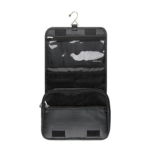 c4b2ba7fb9 Arvok Hanging Toiletry Bag- Large Cosmetic Makeup Travel Organizer Kit for  Men   Women with