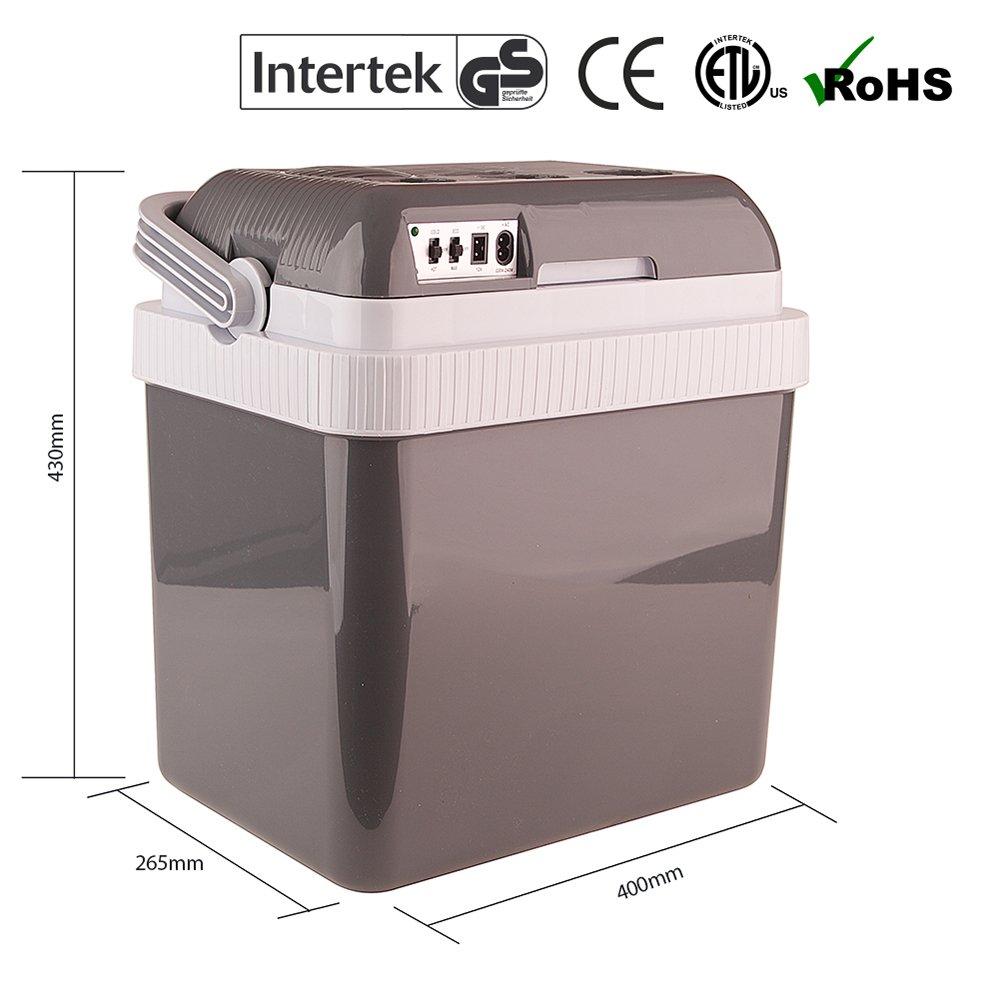 Auto Companion Nevera el/éctrica port/átil mantiene el fr/ío o el calor 32L, CA 240 V - 12 V