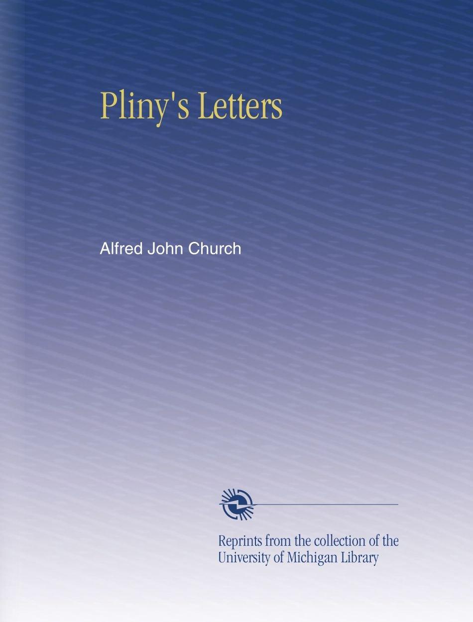 Pliny's Letters ebook