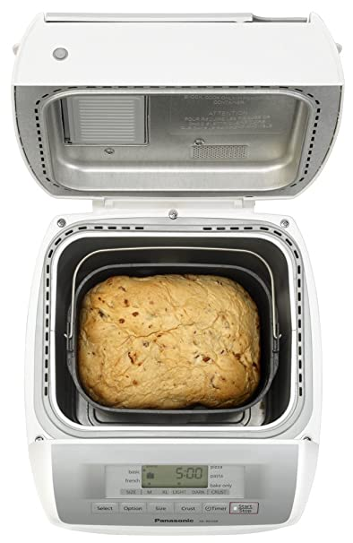 Panasonic Automatic Bread Maker - Panificadora (Blanco, 120AC, 60Hz, 281 mm, 325.1 mm (12.8