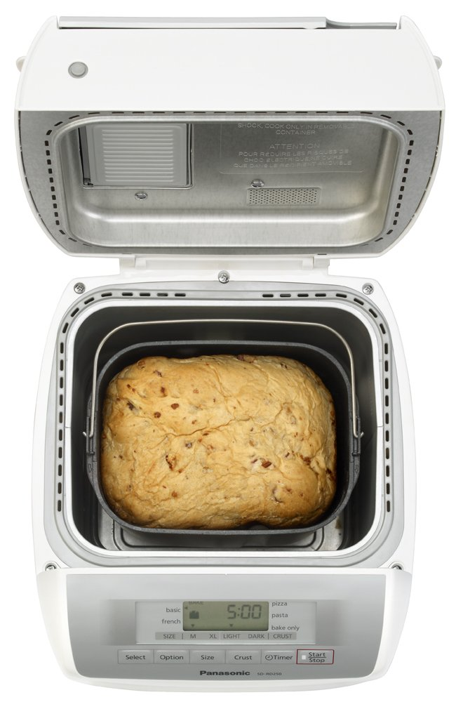 Panasonic SD-RD250 Bread Maker with Automatic Fruit & Nut Dispenser by Panasonic (Image #6)