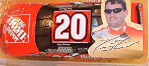 ACTION 2004 Tony Stewart #20 Home Depot 1/24 Scale Diecast Winners Circle