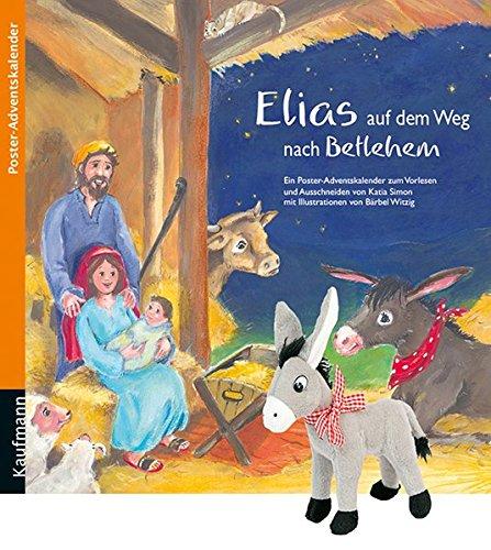 Elias auf dem Weg nach Betlehem mit Stoffesel