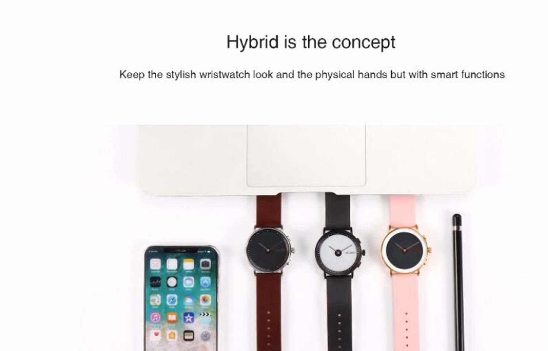 Hzhy Reloj inteligente con pantalla de tinta electrónica ...