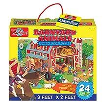 T.S. Shure Barnyard Animals Jumbo Floor Puzzle