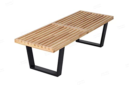 george nelson bench. George Nelson Platform Bench In Natural Solid Wood (4 Feet) R
