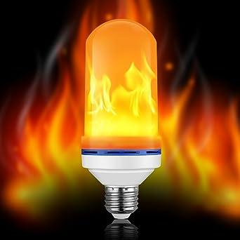 Elough led flicker flame light bulbs e26 3 modes fire effect lamp elough led flicker flame light bulbs e26 3 modes fire effect lamp 2300k atmosphere flame bulb aloadofball Images