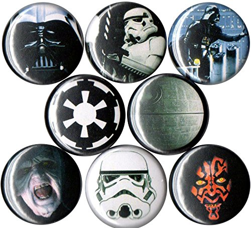 (Set of 8 Star Wars Dark Side 1