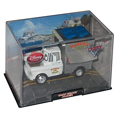 Disney / Pixar CARS 2 Movie Exclusive 148 Die Cast Car In Plastic Case Taco Truck: Toys & Games