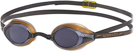 Speedo Occhialini da Nuoto Adulti Socket Mirror /104417054onesz 8/ One Size Black//Gold