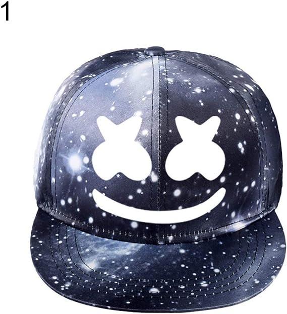 E-House - Gorra de béisbol luminosa para DJ, Marshmello Starry, de ...