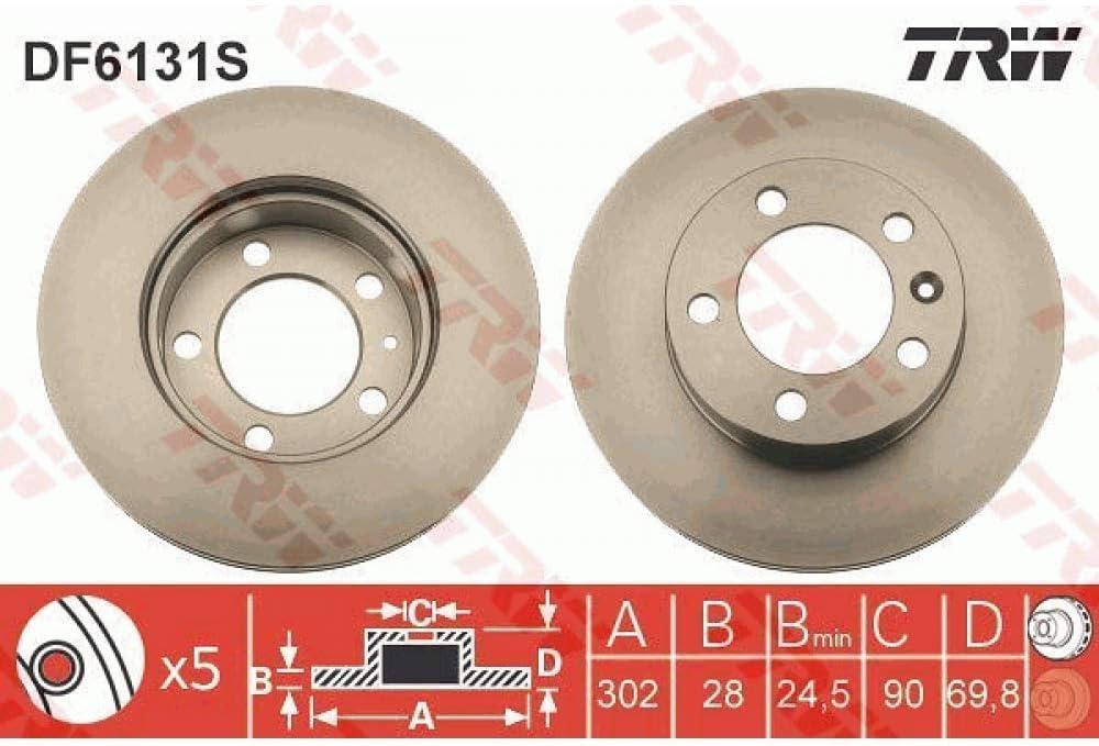 Trw disques de Frein df6131s-la Piece