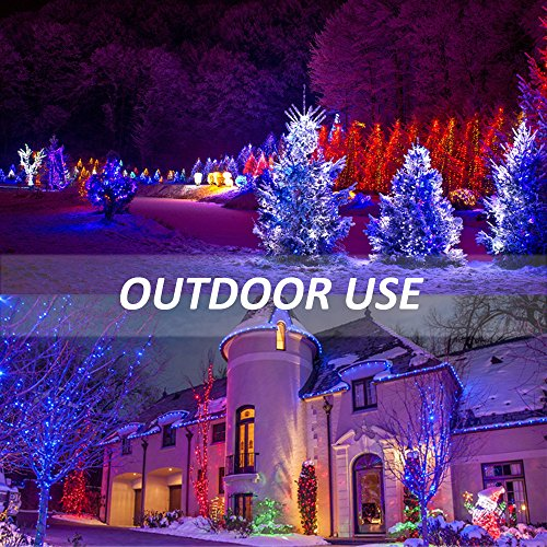 Ustellar 2 Pack 30W RGB LED Flood Lights, Outdoor Color Changing Floodlight with Remote Control, IP66 Waterproof 16 Colors 4 Modes Dimmable Wall Washer Light, Stage Lighting with US 3-Plug by Ustellar (Image #6)