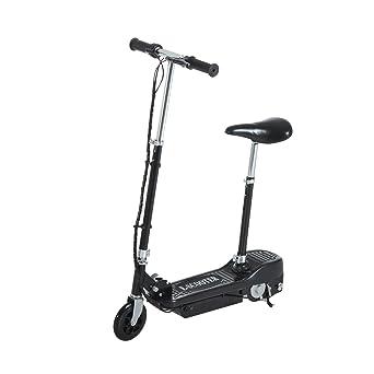 Homcom - Scooter eléctrico con sillín plegable, para niños ...