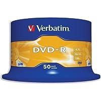 Verbatim DVD-R 4.7GB 16 X 50PK Spindle