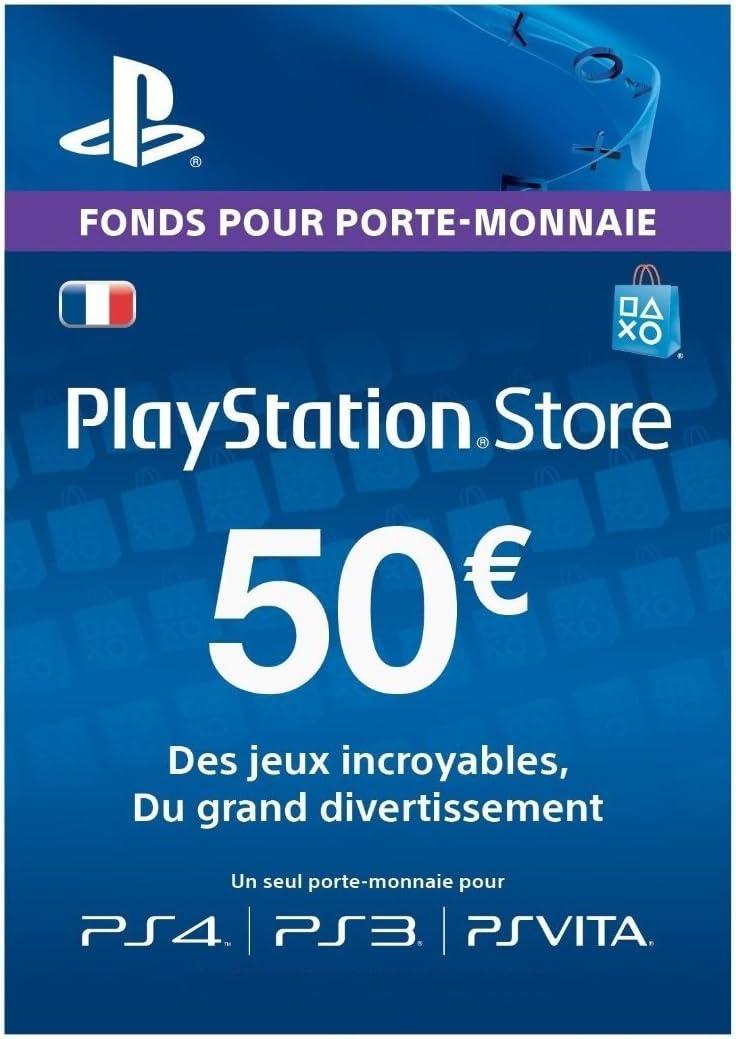 Playstation Network Card 50 [Importación francesa]: Amazon.es: Videojuegos