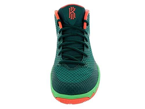Amazon.com   Nike Kyrie 1 Venus Flytrap 705277-313 Emerald Green/Silver  Men's Basketball Shoes   Fashion Sneakers