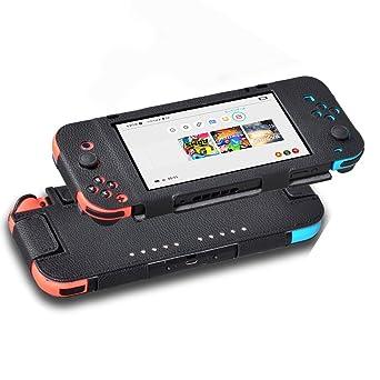 iAmer Nintendo Switch Carcasa, Switch Funda, Antideslizante ...