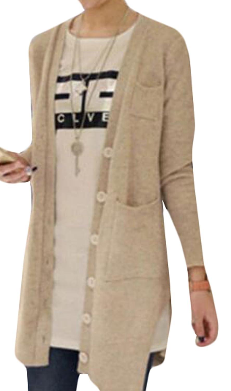 Zago Women's Long Sleeve Fashion Cardigan Casual Sweater