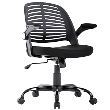 BestMassage Home Office Chair Desk Computer Ergonomic Swivel Executive  Rolling Chair with Arms Lumbar Support Task 58158da6d