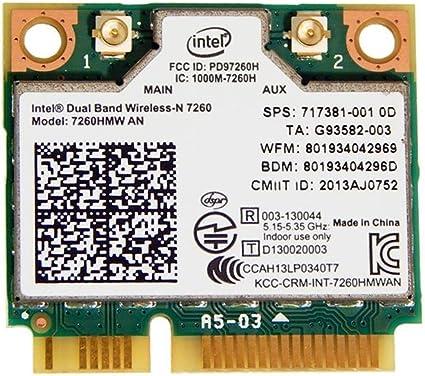 DualBand Wireless-AC 867M Mini PCI-E BT4.0 Card Intel For HP SPS 710661-001