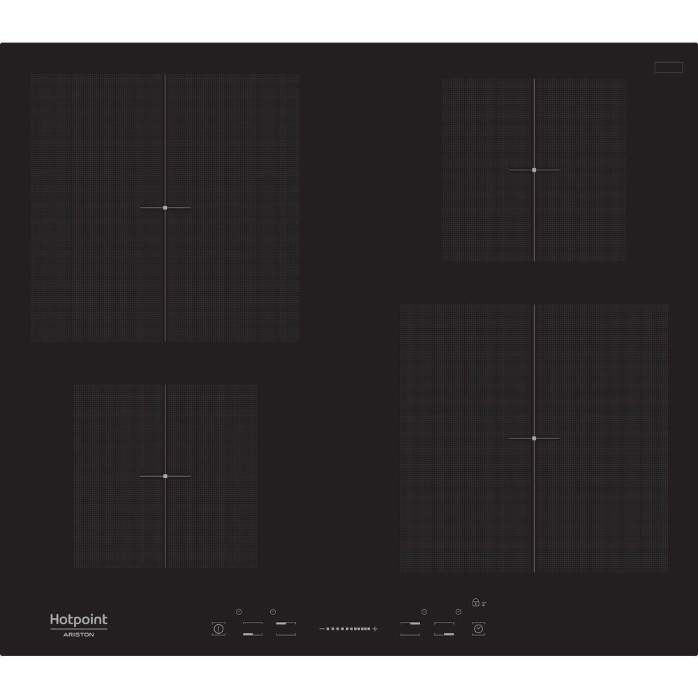 Hotpoint - hobs a inducción Kis 640 B de vitrocerámica de 60 ...
