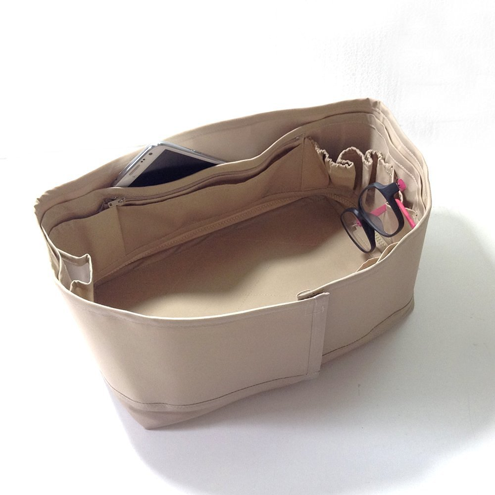 Bag Organizer Insert Speedy LV, Speedy 30, Base Shaper Light Tan /Beige/Cream Color