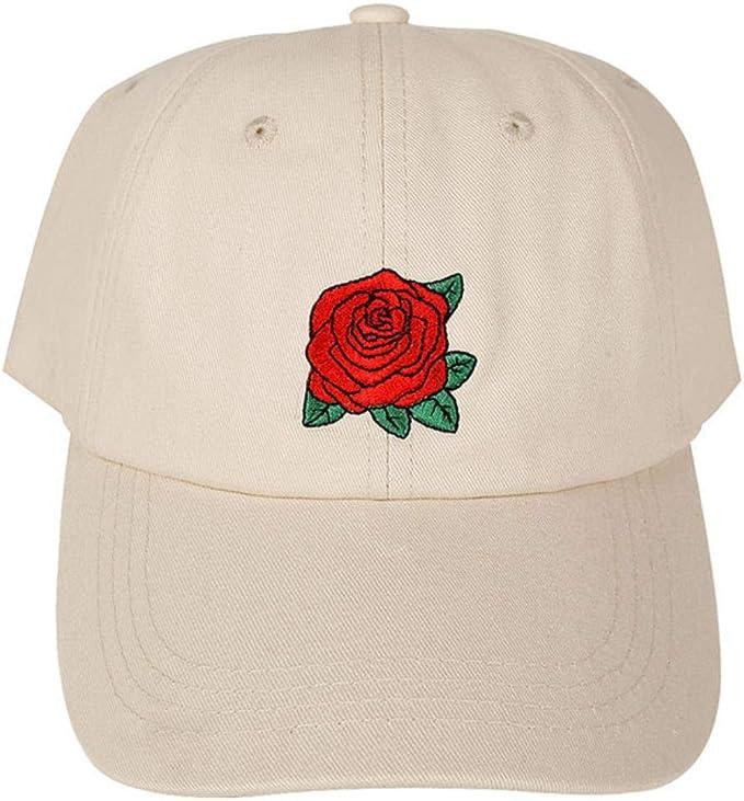 Rosas de Moda Hombres Mujeres Gorras de béisbol Sombreros de Sol ...