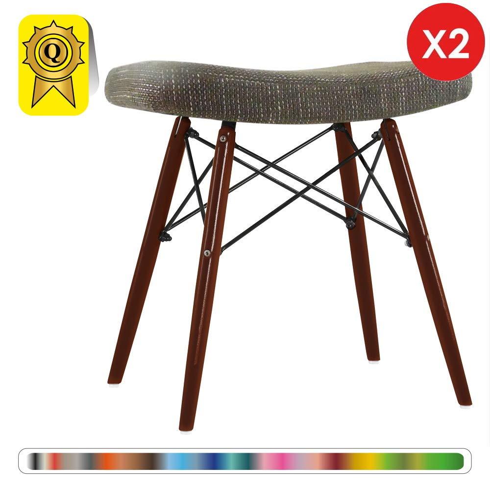 Decopresto Venta 2 x Diseñador heces reposapiés escandinavo ...