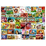 Walt Disney : 50 Different Stamps Collection Mixture Packet Stamps for Collectors