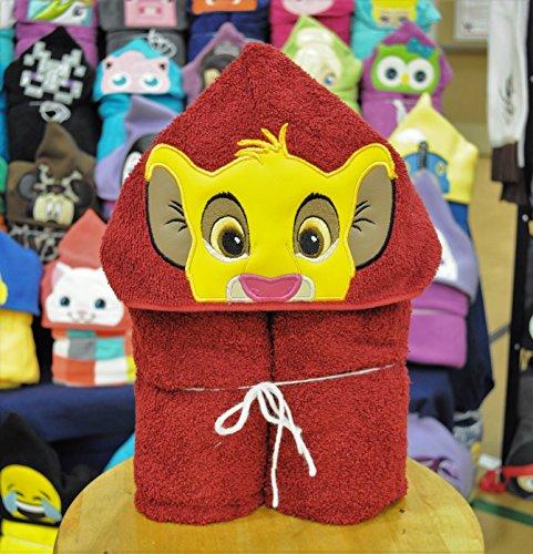 Lion Cub Hooded Bath Towel - Baby, Child, (Roar Spec)