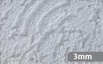 Ryfo Colors Reibeputz 3mm Muster 8x5cm Weiss Weitere Strukturen Und