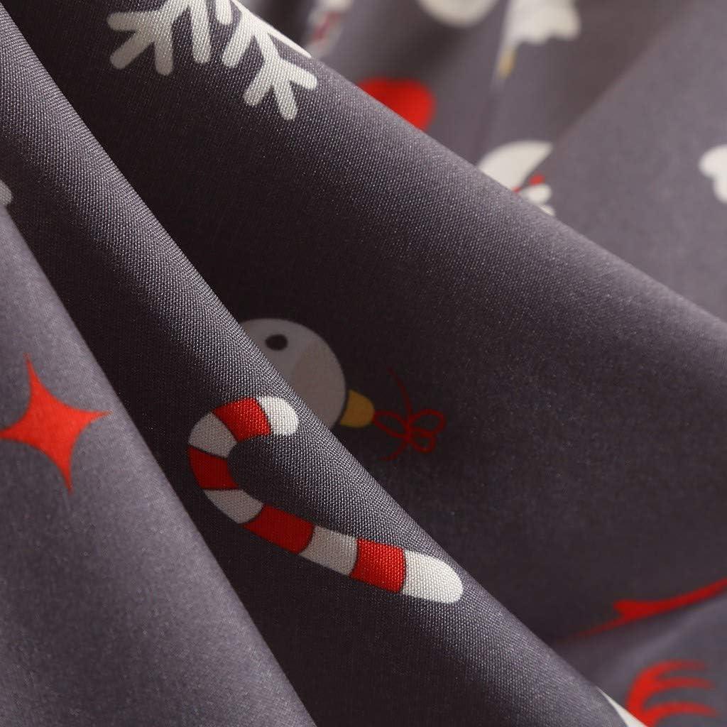 Realty Elk Print Hepburn Dress Vestido de Manga de Fiesta de ...