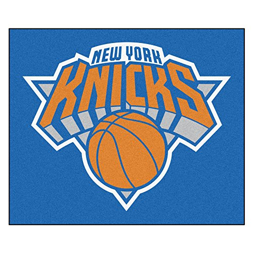 FANMATS 19462 NBA - New York Knicks Tailgater Rug , Team Color, 59.5''x71'' by Fanmats