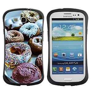 Fuerte Suave TPU GEL Caso Carcasa de Protección Funda para Samsung Galaxy S3 I9300 / Business Style Sweet Chef Food Baking