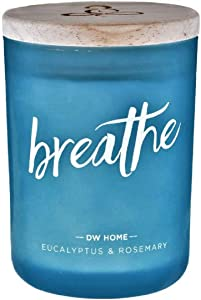 DW Home Zen Spa Series Richly Scented Candle Breathe - Eucalyptus + Rosemary Scented Candle, 7.4 Oz.