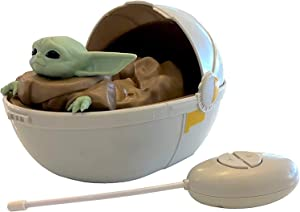 Mandalorian Star Wars The Baby Yoda The Child in Pram - Remote Control Crib Car