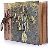 Photo Album Scrapbook, Our Adventure Book, DIY