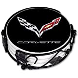 "Art Plates ""Corvette C7 Logo"" Ceramic Drink Coaster Set"