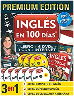 Ingles En 100 Dias English In 100 Days Aguilar 9781616059026 Books
