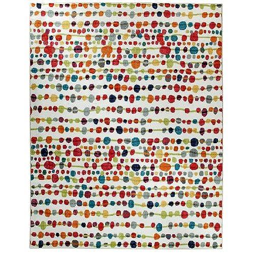 colorful rugs. Mohawk Home Strata Delerus Dotted Printed Area Rug, 5\u0027x8\u0027, Multicolor Colorful Rugs R