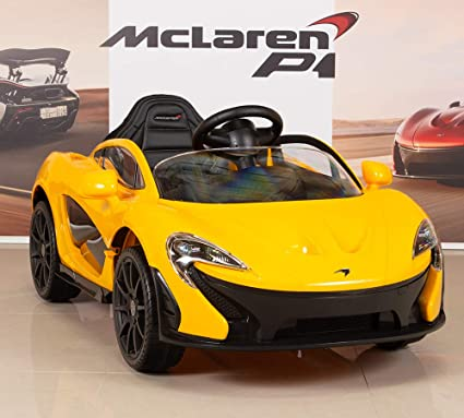 e29f43c45dba BIG TOYS DIRECT McLaren P1 Kids 12V Battery Operated Ride On Car with Remote  Control,