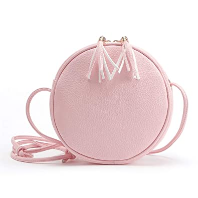 Amazon.com: Women Fashion Handbag ladies Shoulder Bag Tote Ladies Purse Messenger Bag ShoulderBag leather crossbodybags bolsas feminina #75 Color Pink: ...