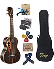 23-inch Hawaii ukulele rosewood professional concert Ukuleles send tuner trim folder thick piano bag