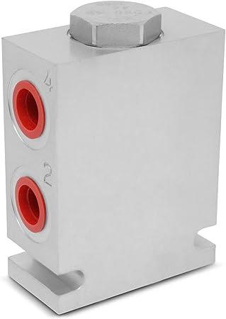 4-12 GPM 50:50 Bomba Hidráulica Divisor//Combinador de flujo