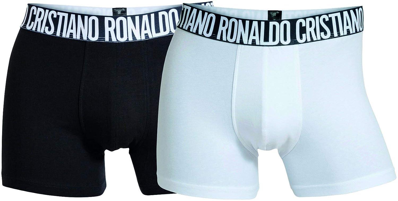 CR7 CRISTIANO RONALDO Shorts Tipo bóxer -Pack de 2 para Hombre