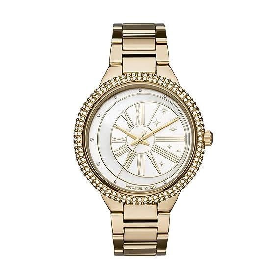 Michael Kors Reloj Analogico para Mujer de Cuarzo con Correa en Acero Inoxidable MK6550: Amazon.es: Relojes