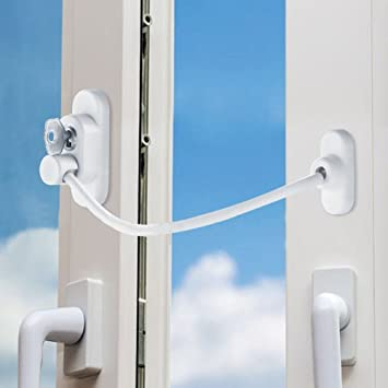 SLC Window Door Restrictor Cable Security Lock Key Baby Child Safety Device and Intrusion Defence & Amazon.com: SLC Window Door Restrictor Cable Security Lock Key Baby ...