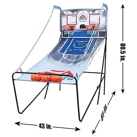 EA Sports 2-Player Arcade pop-a-shot Juego de baloncesto: Amazon ...