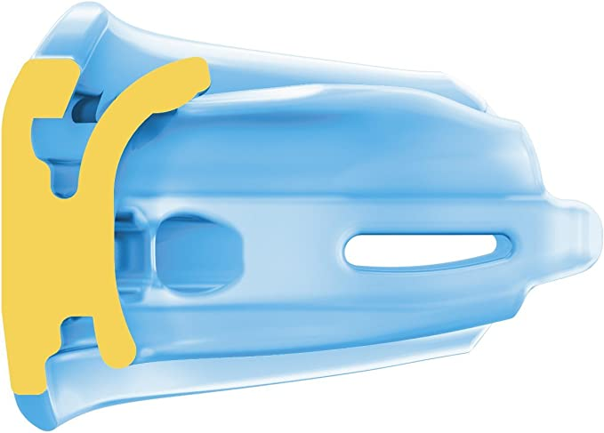 Blue, Adult Shock Doctor Double Braces Strapless Mouthguard